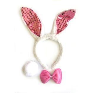 Купить Набор карнавальный Accessories «Зайчик блестящий»
