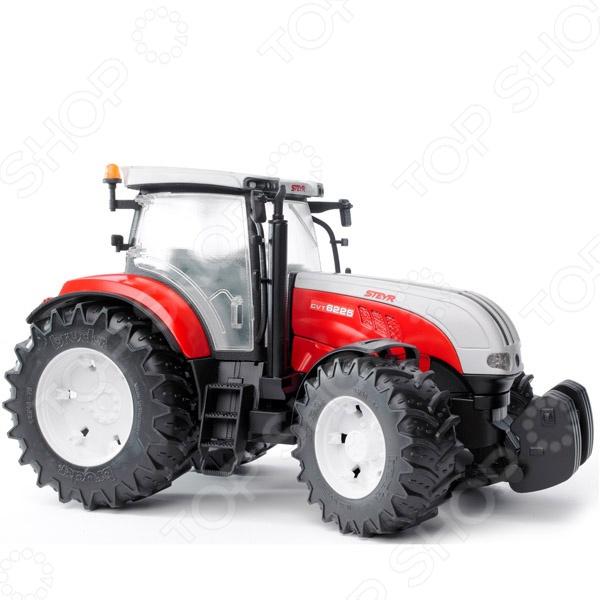 Трактор игрушечный Bruder Steyr CVT 6230 трактор игрушечный bruder claas xerion 5000