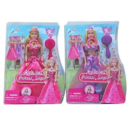 Купить Кукла интерактивная Defa «Принцесса» 8265. В ассортименте