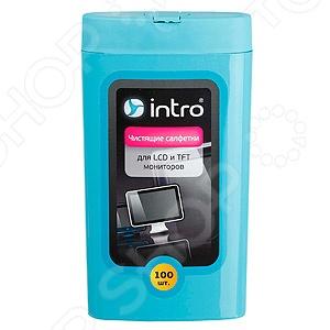 Набор салфеток чистящих Intro для мониторов LCD, TFT