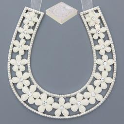 Купить Подкова Elan Gallery «Цветочки белые»