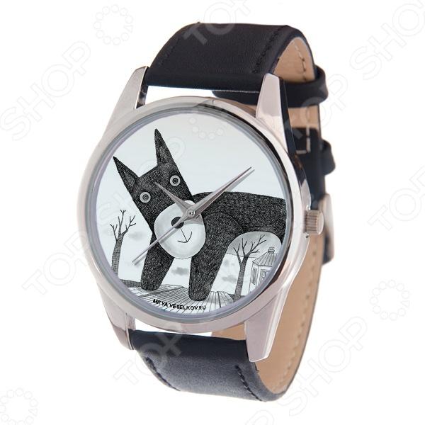 Часы наручные Mitya Veselkov «Плюшевый пес» MV-114