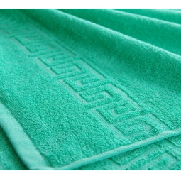 фото Полотенце махровое Asgabat Dokma Toplumy. Размер: 50х90 см. Цвет: зеленый