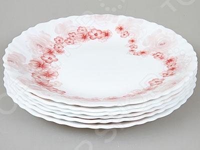 Набор тарелок Rosenberg 1226-588 купить газовый счетчик октава g4