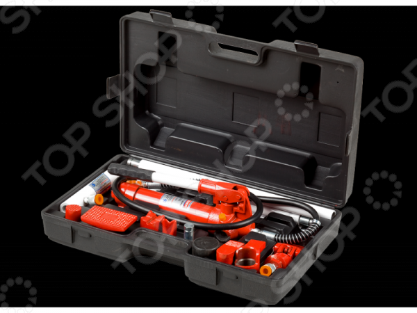 Набор гидравлического инструмента для кузовного ремонта Зубр «Эксперт» 43035-10 цена