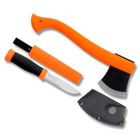 Купить Набор туриста: топор и нож MORAKNIV 12096