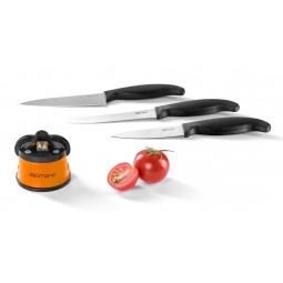 Купить Ножеточка Delimano Brava и набор из 3-х ножей