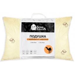 фото Подушка Сова и Жаворонок Premium «Верблюжья шерсть»