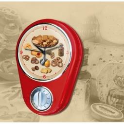 фото Часы настенные с таймером Феникс-Презент «Печенье»