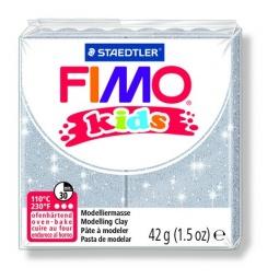 фото Глина полимерная для детей Fimo kids 8030. Цвет: серебристый