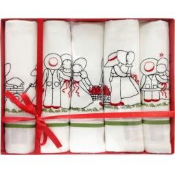 фото Комплект из 5-ти гладкотканых полотенец подарочный BONITA Love story