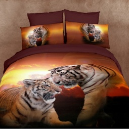 фото Комплект постельного белья Buenas Noches Family. Satin Fotoprint. 2-спальный