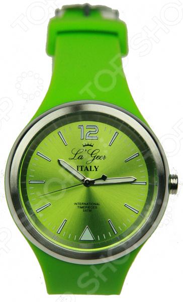 Часы наручные La Geer 60708Наручные часы унисекс<br>Часы наручные La Geer 60708 станут прекрасным дополнением к набору ваших аксессуаров. Представленная модель отличается стильным дизайном и отличным качеством исполнения, хорошо сочетается с яркими нарядами и изящными украшениями. Часы выполнены из высококачественных материалов и оснащены надежным кварцевым механизмом, который обеспечит долгую бесперебойную работу. Правила ухода: протирать влажной салфеткой, своевременно заменять батарейки.<br>