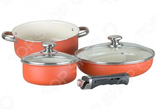Набор посуды для готовки POMIDORO Terracotta Ottimale Set