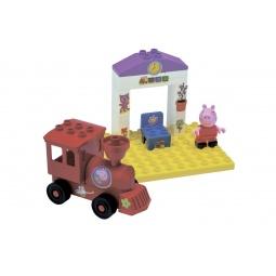 Купить Конструктор детский BIG «Поезд с остановкой»