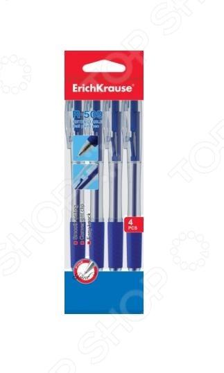 Набор ручек шариковых Erich Krause R-509. Цвет чернил: синий