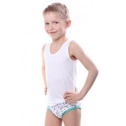 фото Майка для мальчика Свитанак 107620. Размер: 34. Рост: 128 см