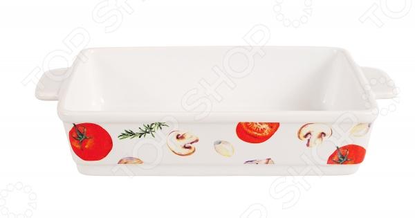 Блюдо для запекания керамическое прямоугольное «Едим Дома от Юлии Высоцкой»