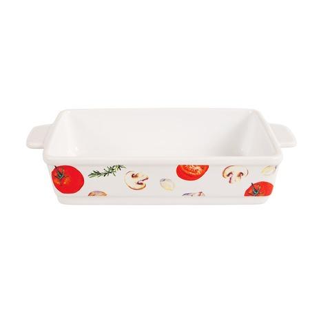 Купить Блюдо для запекания керамическое прямоугольное «Едим Дома от Юлии Высоцкой»