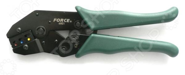 Клещи обжимные для электромонтажа Force F-6801