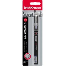 фото Ручка гелевая Erich Krause Megapolis Gel Black Tie