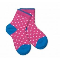 фото Носки детские Teller Polka Dot. Цвет: розовый