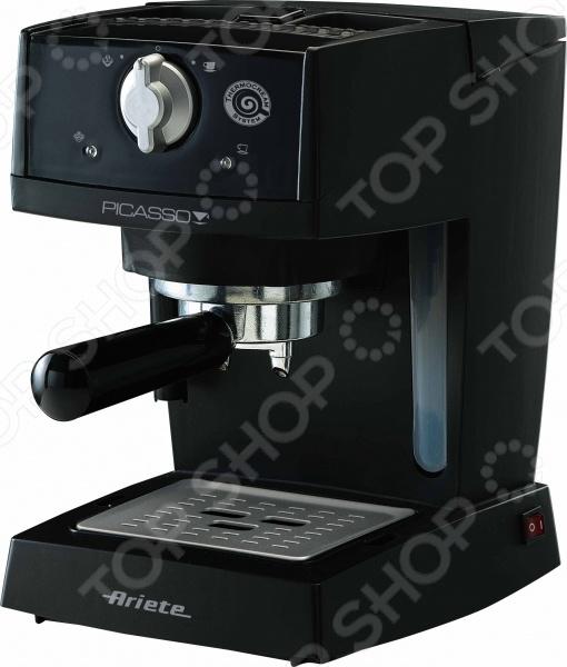 Кофеварка Ariete 1365Кофеварки<br>Кофеварка Ariete 1365 - современная, стильная, лёгкая в использовании модель. С помощью данного прибора, всего одним нажатием на кнопку в считанные минуты, вы сможете приготовить свежий горячий ароматный кофе и насладиться им в любое время дня. Кофеварка рассчитана на одновременное приготовление двух чашек кофе. Модель проста и удобна в эксплуатации. Благодаря стильному дизайну отлично впишется в интерьер любой современной кухни.<br>