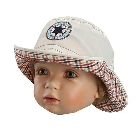 Купить Панама детская Shapochka Sheriff. Цвет: бежевый