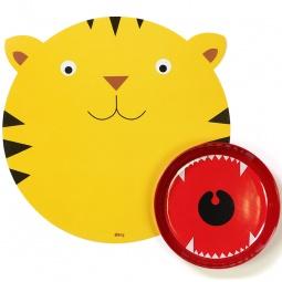 Купить Миска с ковриком Doiy Hungry tiger