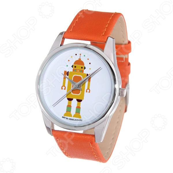 Часы наручные Mitya Veselkov «Робот»