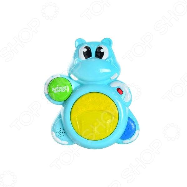 фото Игрушка музыкальная Keenway «Бегемотик-барабанщик», Музыкальные игрушки для малышей