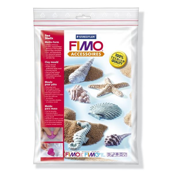 фото Набор формочек для лепки Fimo «Морские ракушки»