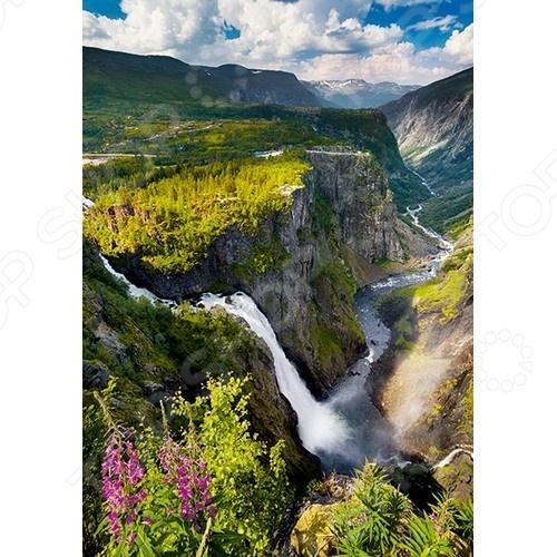 Пазл 1000 элементов Trefl «Водопад Верингсфоссен в Норвегии» 10382Пазлы (501–1000 элементов)<br>Пазл 1000 элементов Trefl Водопад Верингсфоссен в Норвегии замечательная головоломка, которая понравится и детям, и взрослым. Ведь это так увлекательно собирать красивое изображение из небольших элементов словно художник, составляющий мозаику. На поверхность пазла нанесен четкий рисунок высокого качества, поэтому процесс сборки становится простым и приятным, а результат радует глаз. Кстати, готовое изображение может стать отличным украшением для вашего дома, если его наклеить на какую-нибудь плотную основу и использовать в качестве картины.<br>