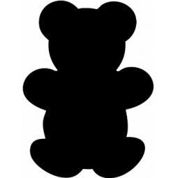 фото Набор: доска для заметок меловая и маркер Securit «Медведь»