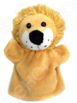 Кукла на руку Жирафики 68355 «Львенок»Кукольный театр<br>Кукла на руку Жирафики 68355 Львенок это милая игрушка, которая понравится любому ребенку, ведь с ней можно играть в собственный кукольный театр! Кукла состоит из головы и перчатки под пальцы, запястье закрыто тканью. Стоит только надеть кукла на руку и подвигать пальцами, как она оживет, а ребенок будет заворожен. Игра с такой куклой поможет малышу развить воображение, фантазию и мелкую моторику рук.<br>