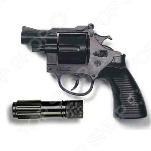Пистолет с глушителем Edison Americana Polizei