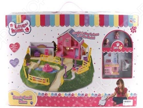 Домик кукольный Shantou Gepai с аксессуарами 3947-3