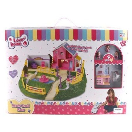 Купить Домик кукольный Shantou Gepai с аксессуарами 3947-3