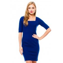 фото Платье Mondigo 8669. Цвет: темно-синий. Размер одежды: 46