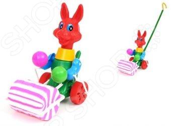 Каталка для малыша Suchanek «Заяц с валиком»