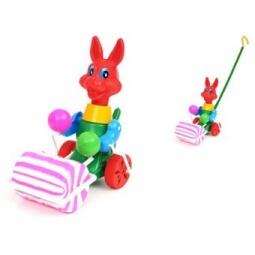 Купить Каталка для малыша Suchanek «Заяц с валиком»