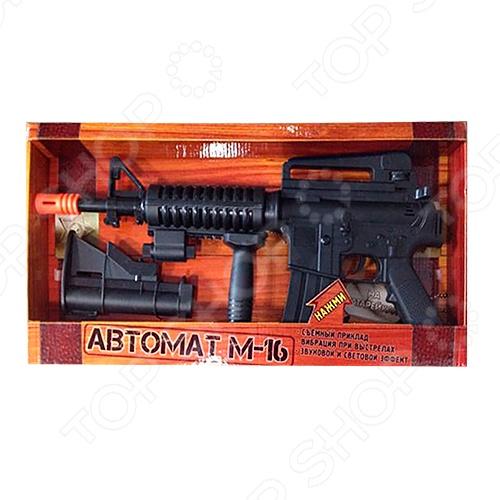 фото Автомат игрушечный Играем Вместе М-16, Другое игрушечное оружие