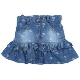 Купить Юбка детская Akira ЯВ121314. Цвет: синий