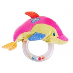 фото Игрушка-погремушка Жирафики «Дельфин»