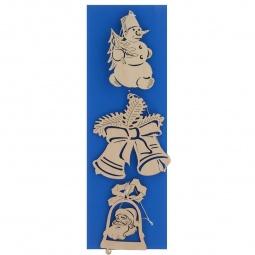 фото Набор украшений деревянных Караван-СТ Н-43