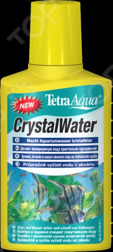 Кондиционер для очистки воды в аквариуме Tetra TetraAgua CrystalWater кондиционер для поддержания параметров воды в аквариуме tetra easybalance