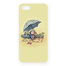 фото Чехол для iPhone 5 Mitya Veselkov «Девочка на пляже под зонтом»