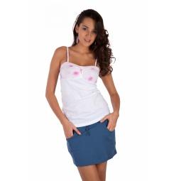 фото Юбка Mondigo 8640. Цвет: джинсовый. Размер одежды: 46