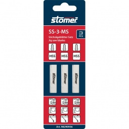 фото Набор пилок для лобзика Stomer SS-3-MS