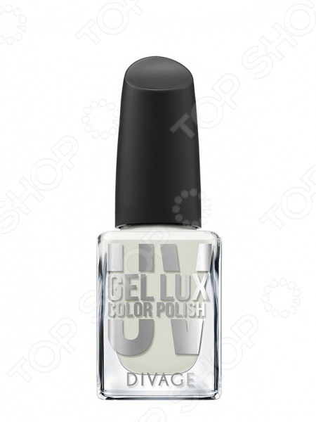 Гель-лак для ногтей DIVAGE Nail Polish UV Gel Lux giotto акварель полусухая глиттер 8 цветов кисточка 331200